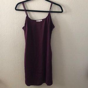 Mulberry Satin mini dress size L.